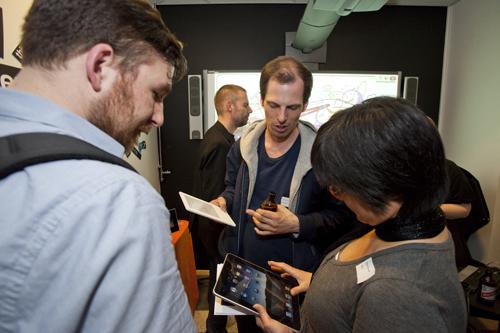 iPad väcker mycket uppmärksamhet